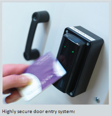 secure door entry